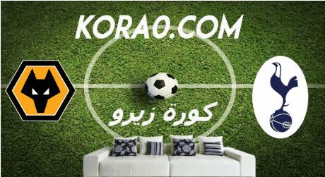 مشاهدة مباراة توتنهام وولفرهامبتون بث مباشر اليوم 1-3-2020 الدوري الإنجليزي