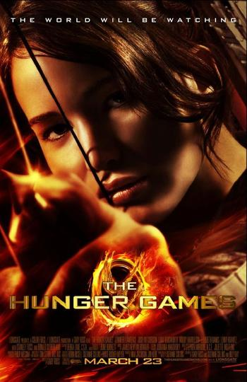 The Hunger Games 2012 480p 450MB BRRip