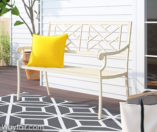 Add porch seating for curb appeal