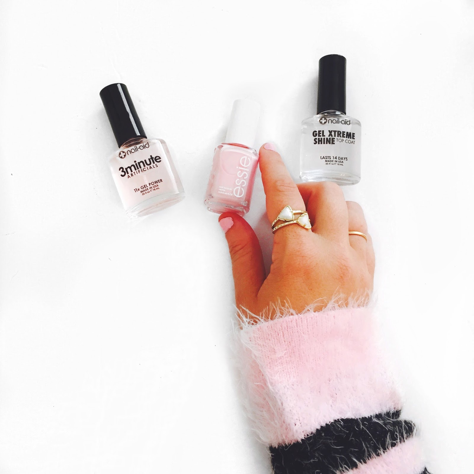 3 steps to gel nails at home