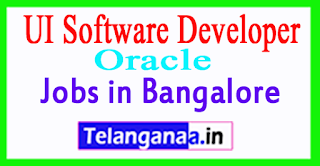 Oracle UI Software Developer Jobs in Bangalore