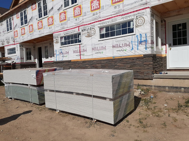 Drywall is here