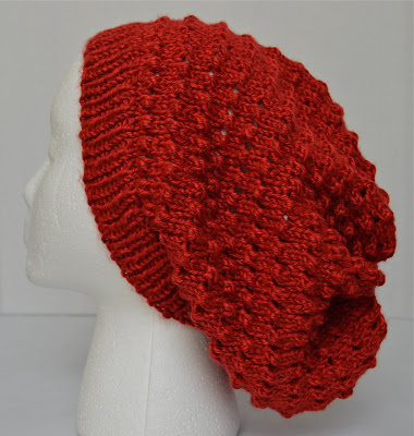 slouchy hat, tam, beanie for sale at https://www.etsy.com/shop/JeannieGrayKnits