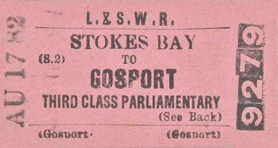 Stokes Bay Ticket