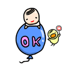 small uncle Sticker