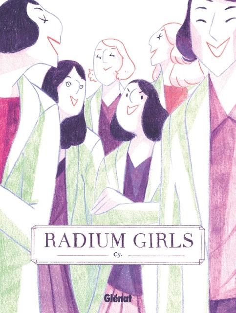 Livre BD Radium Girls L'Agenda Mensuel - Juillet-Août 2020