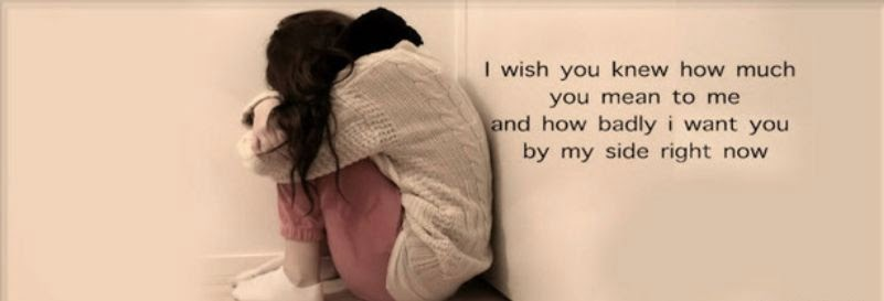 I Wish You Quote Facebook Cover