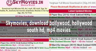 skymovies download latest new hd mp4 bollywood, south, hollywood movies hindi