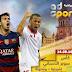 القنوات المفتوحة الناقلة لمباراة برشلونة وإشبيلية مباشرة اليوم مجانا كأس السوبر الأسباني