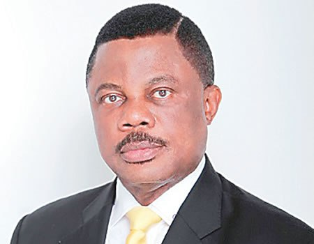 home of the governor of Anambra state, Chief Willie Obiano is currently on fire.