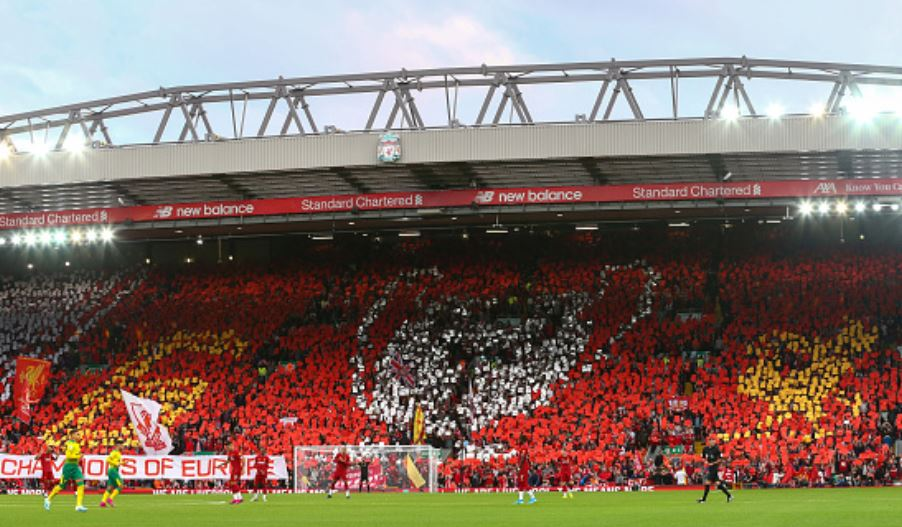 Kop-displays-Champions-League-banner