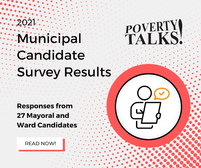 Poverty Talks! Survey of Municipal Candidates Results!