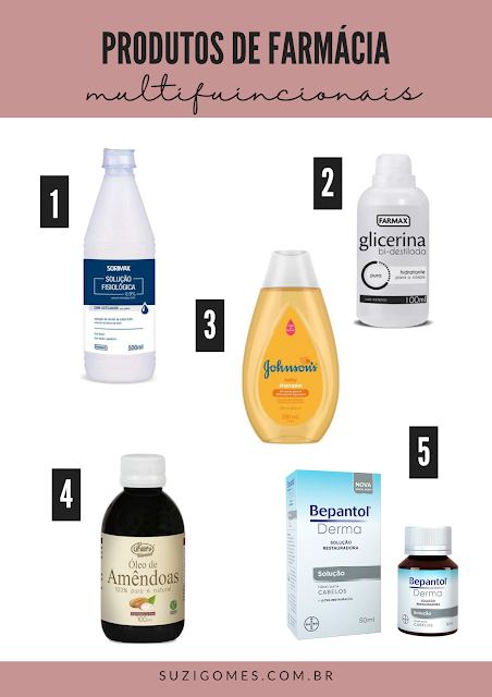 20  produtos de beleza mais vendidos em farmácias