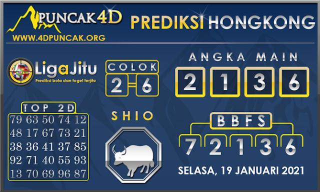 PREDIKSI TOGEL HONGKONG PUNCAK4D 19 JANUARI 2021