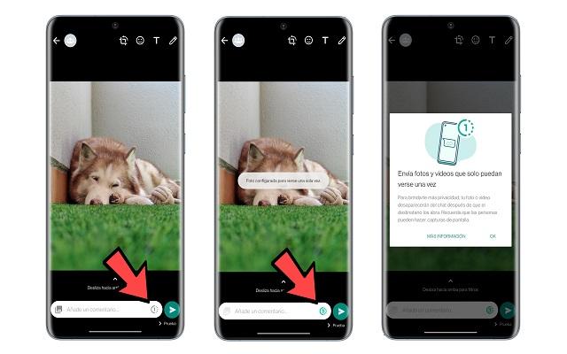 تفعيل ميزة الصور والفيديو المختفي على واتساب