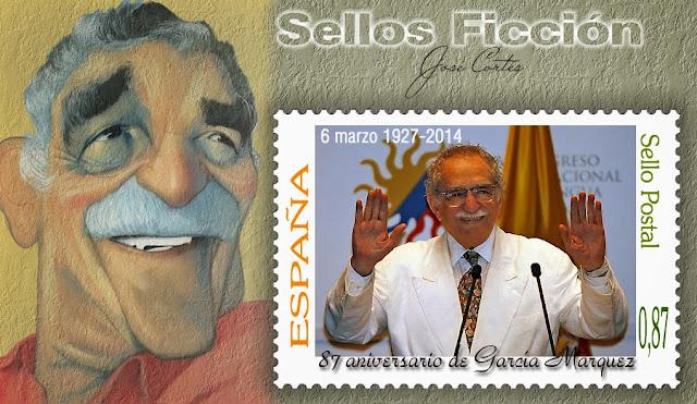 Resultado de imagem para SELO DE Gabriel García Márquez,