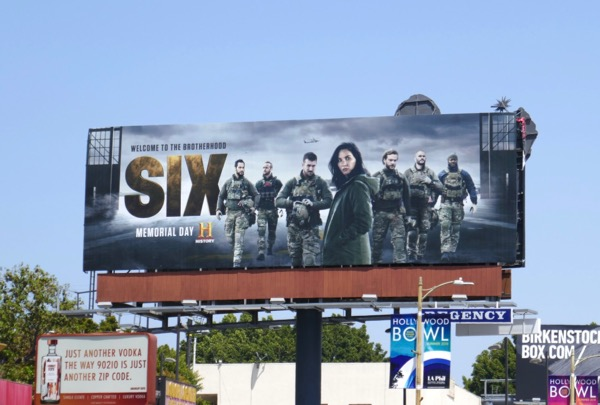 Six season 2 History billboard