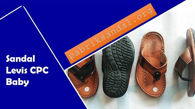 Pabrik Pengrajin Sandal Imitasi Kulit - Levis CPC Baby