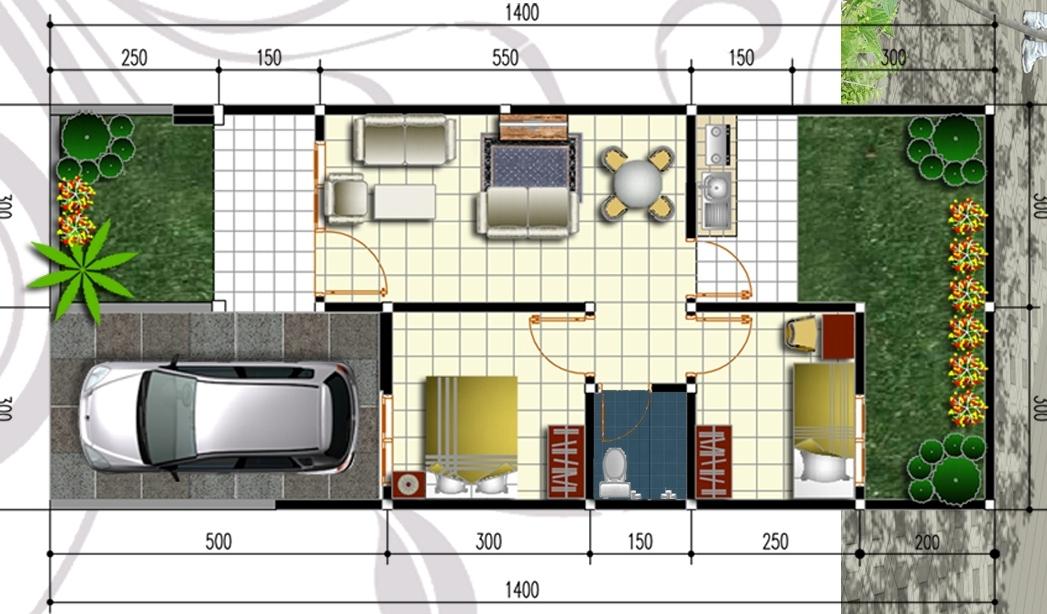 850+ Desain Rumah Minimalis Beserta Ukurannya Gratis Terbaru