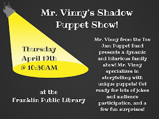 Franklin Public Library: Mr Vinny's Puppet Show