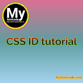CSS ID tutorial