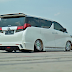 All New Toyota Alphard Hasil Modifikasi Eksklusif Kolaborasi