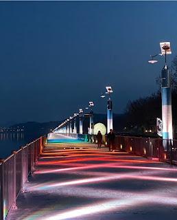 Tangeum Lake Rainbow Bridge