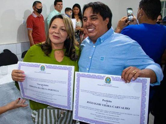 Prefeito João Igor e vice Adriana Portela tem contas aprovadas pela justiça eleitoral do MA