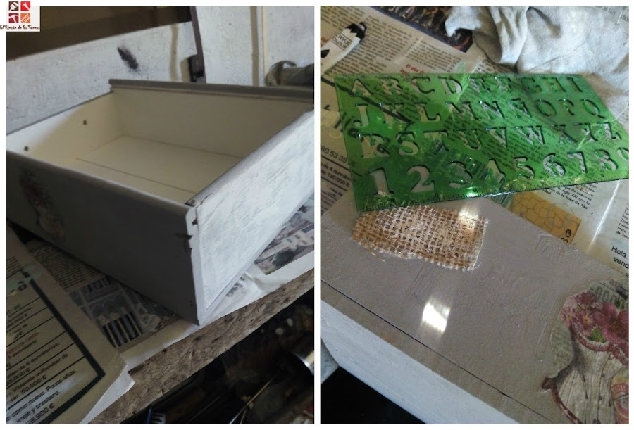 reciclar una caja de vino