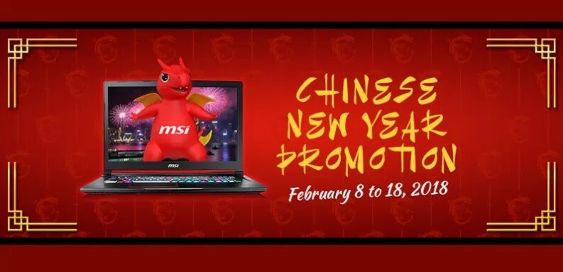 MSI Gaming Launches Chinese New Year Promo