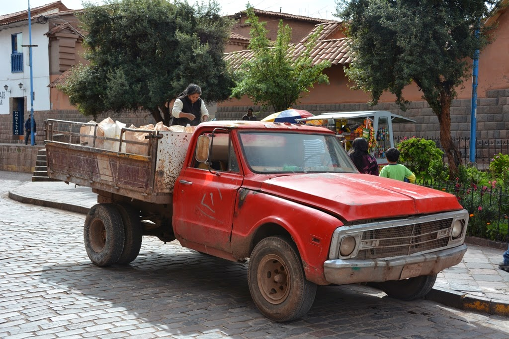 General Impressions of Cusco truck