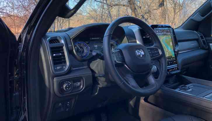 2022 dodge ram 1500 is a game-changer, both on- and off-road: a truck equally capable towing
