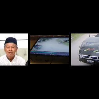 Terekam CCTV, Polres Solok Kota Buru Pelaku Tabrak Lari Hingga Tewas di Jalinsum, Sungai Lasi, Solok