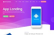 (Premium) App Business Blogger Template Themes