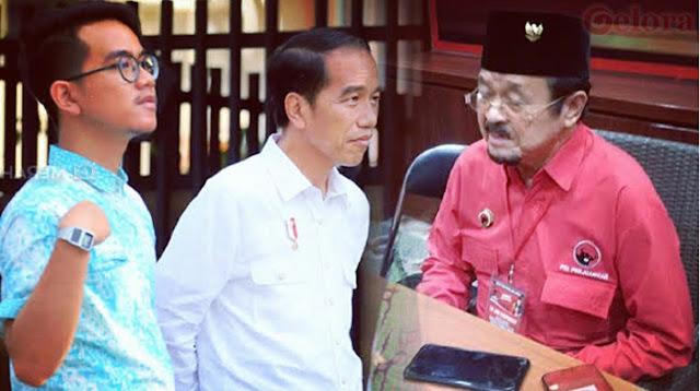 Gibran Cawalkot sementara Purnomo Ditawari Jabatan, Pigai: Perilaku Jokowi Memalukan