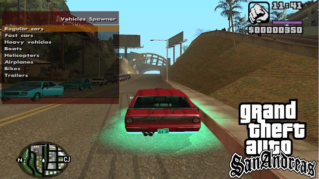 GTA San Andreas New Trainer Mod Pc