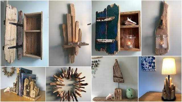 10 Πολύ εντυπωσιακές κατασκευές για το σπίτι από Θαλασσόξυλα