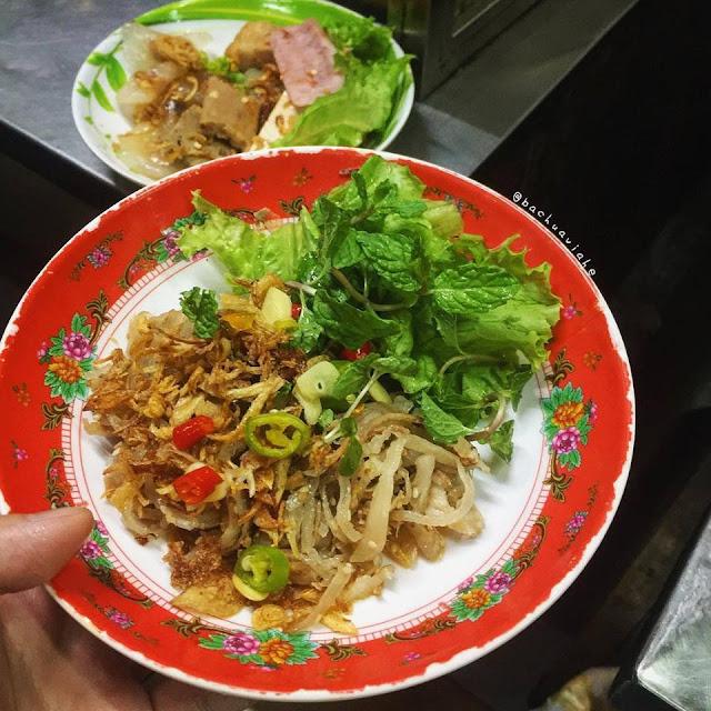 Tré - Quán cô Thu - Khu ẩm thực chợ Cồn, Đà Nẵng