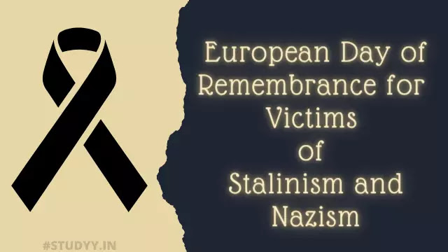European Day of Remembrance for Victims of Stalinism and Nazism