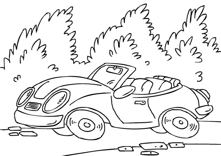 download coloring pages of sports cars