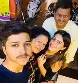 Aparna Dixit with her family