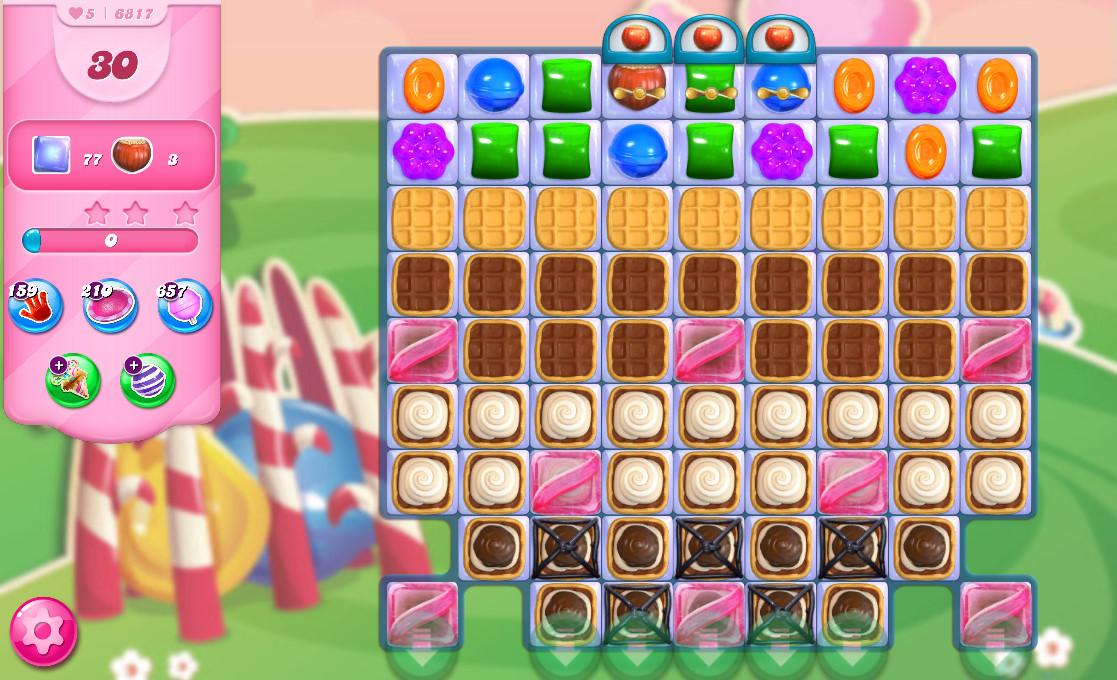 Candy Crush Saga level 6817
