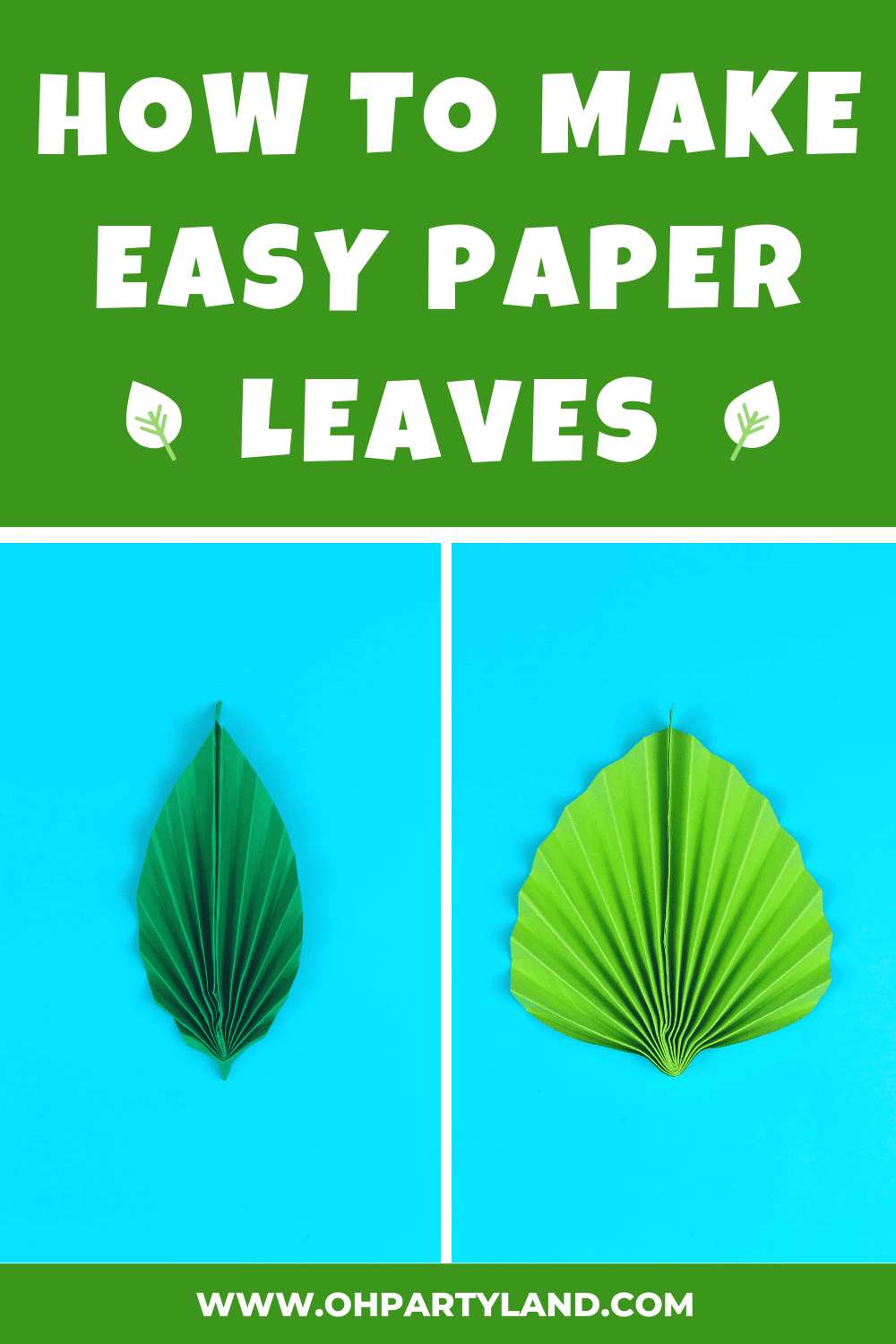 how-to-make-paper-leaves
