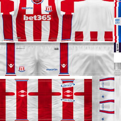 PES 6 Kit Stoke City by Dibu Edition Season 2017/2018