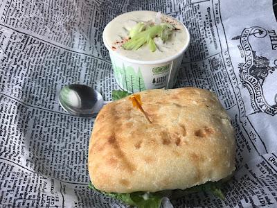 Alaskan Rockfish Sandwich / The Boardwalk Pub & Grill
