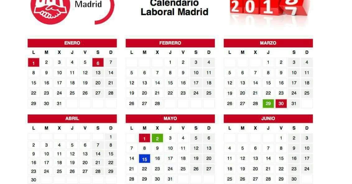 Secci n sindical de ugt madrid en banco santander for Calendario eventos madrid
