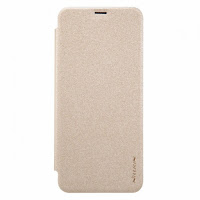 "Jual Nillkin Sparkle Flip Case Cover Samsung Galaxy S8 (5.8"") Gold"
