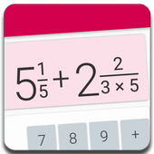 Fractions Calculator - detailed solution