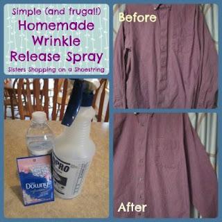 Homemade Wrinkle Release Spray