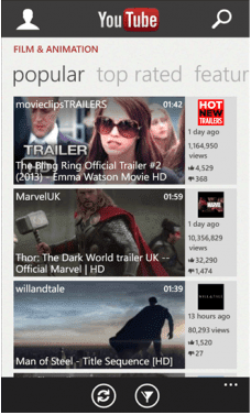 Download YouTube XAP For Windows Phone Free For Windows Phone Mobiles With A Direct Link.